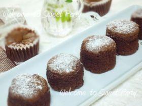 「カフェラテショコラのスフレ」クルリン | お菓子・パンのレシピや作り方【corecle*コレクル】
