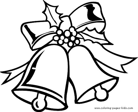 Coloringsco Christmas Bell Coloring Page