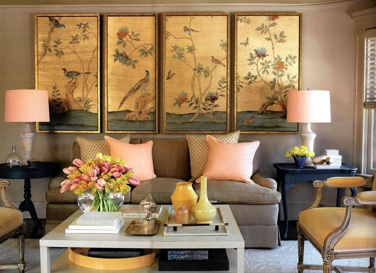 This Beautiful Asia Style Artwork Adds The Perfect Finishing Touch To Sitting Area Peach Living RoomsColors For RoomLiving