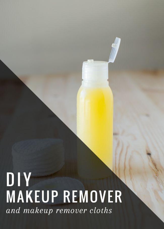 DIY huile démaquillante (witch hazel = eau florale d'hamamélis)