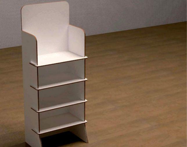 M s de 25 ideas fant sticas sobre estantes de carton en - Como hacer una mesa de ordenador ...
