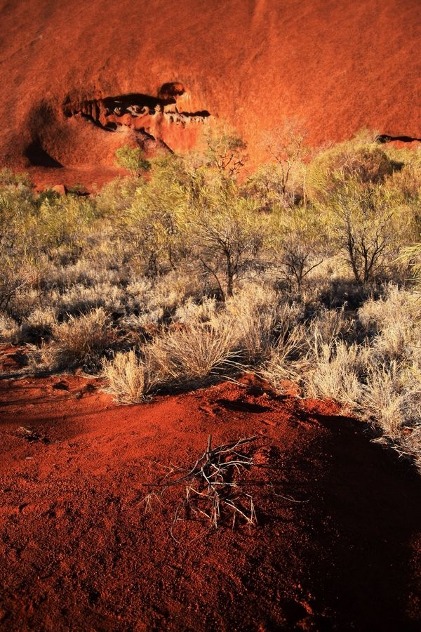 Dream Time - Uluru Northern Territory Australia.