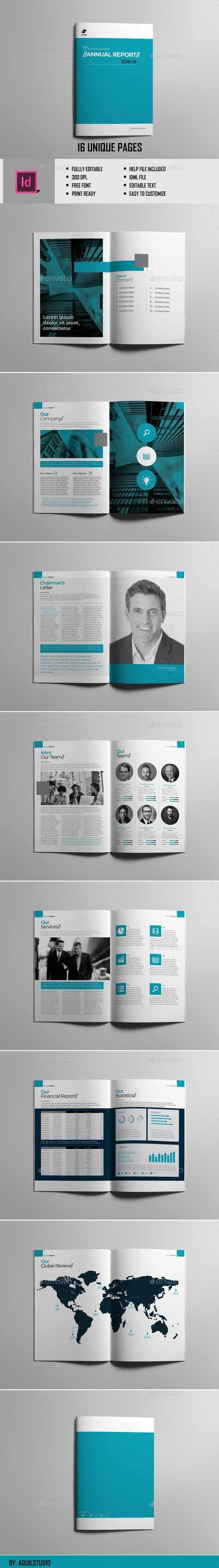 #Annual Report Vol.2 - #Brochures Print Templates