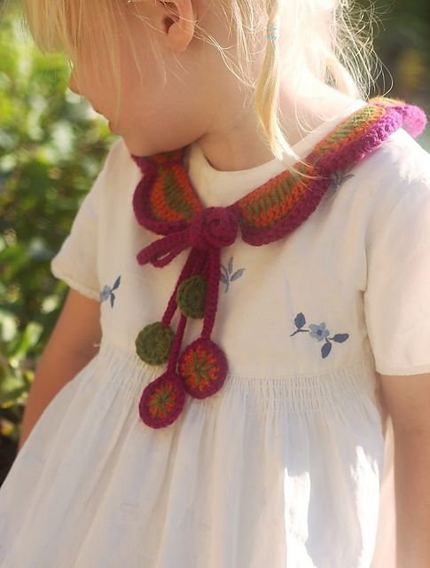Petals Collar pattern by Shelby Allaho-from Inside Crochet magazine July 2014