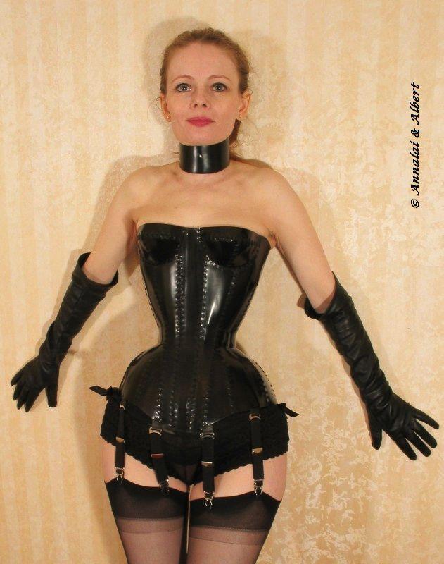 art bondage corset