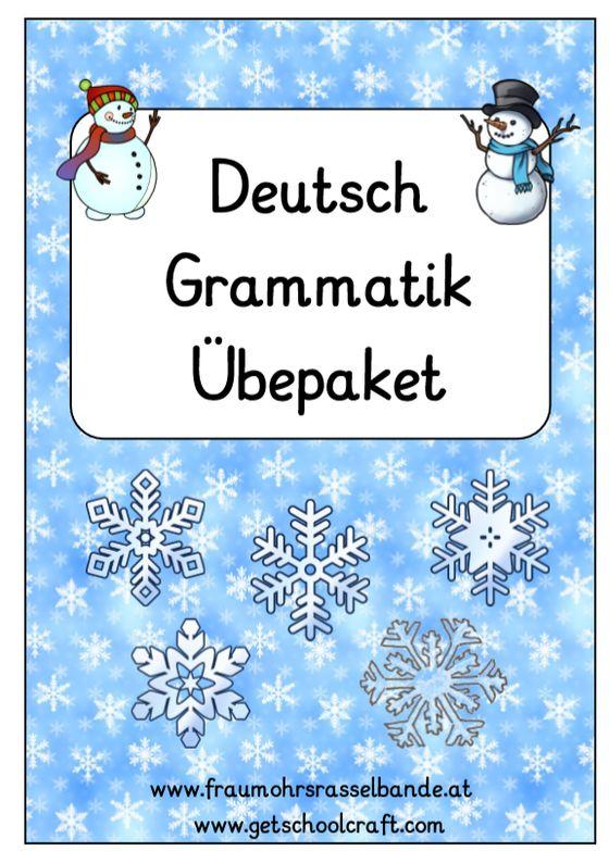 Deutsch Übung für Ferien (Grammatik) – fraumohrsrasselbandes Webseite! – Mariola Baust