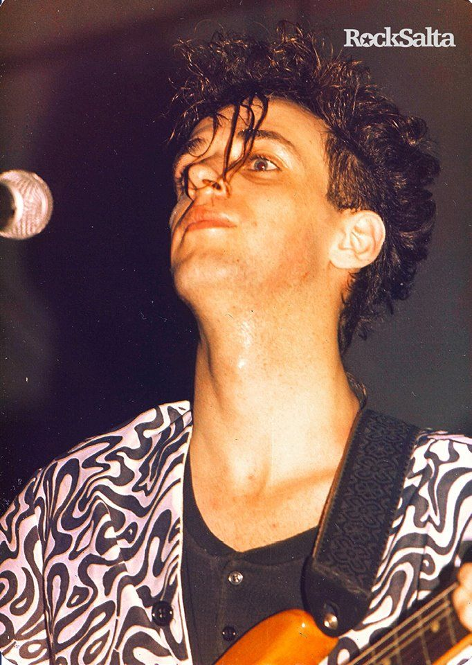 SODA STEREO | Gira Nacional de presentación del primer disco. Salta Club. Ciudad de Salta, Argentina. 16 de octubre de 1985. Fotografía: Rony Barboza. Publicada en Revista Rock Salta Nº 21.