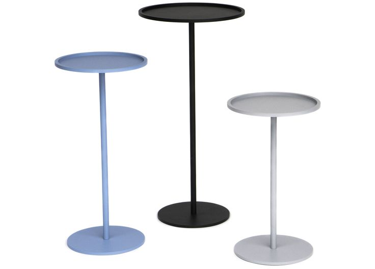 A solid base, a solid bar, a solid tabletop with a solid frame turn the Runde tables into weighty but yet delicate pieces of furniture, made to last forever.  Runde table consists of three parts, base, bar and top, which are simply turned together. Tools are not required.