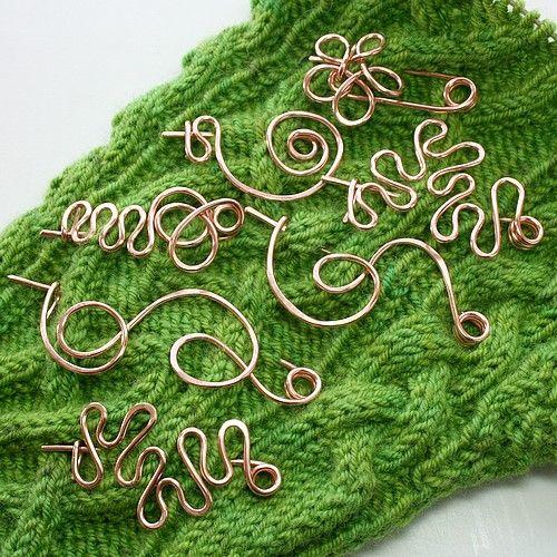 shawl pins . . . I want them all.