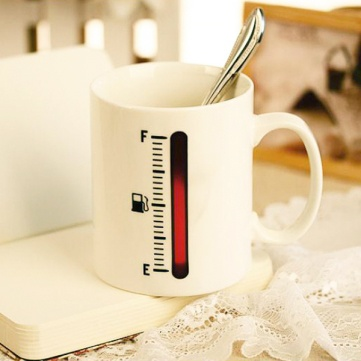 Coffee Mug Cup Temperature Thermometer Measuring Gauge