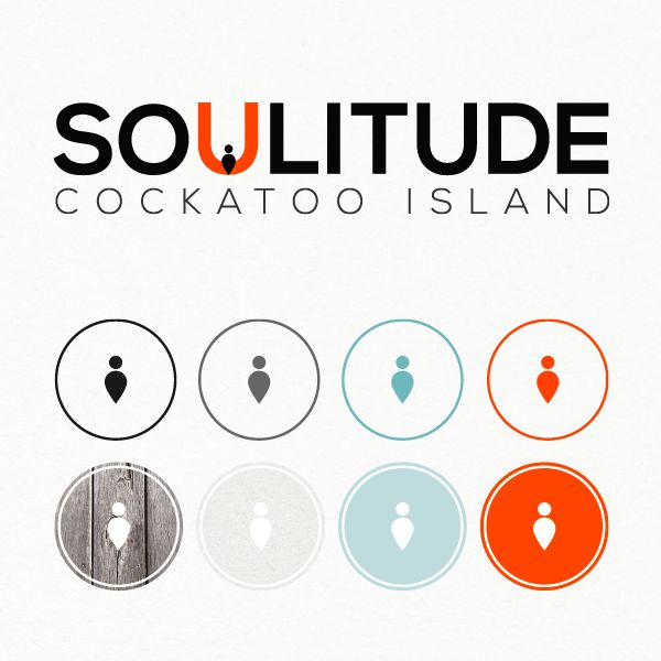 "® Nat Soontornvinate | ""Soulitude"" Brand Identity for Cockatoo Island Sydney (Concept)"