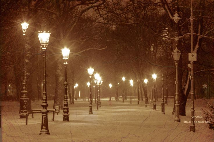 (Berlin) Winter Ade... nie wieder Schnee ... by *Lenmanaa