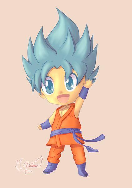 Chibi Goku by QU1NT3R0 on DeviantArt http://amzn.to/2rVUCQt