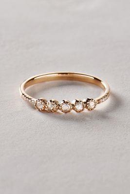 Liven Co. Rosecut Diamond Ring in 14k Gold #anthrofave #anthropologie