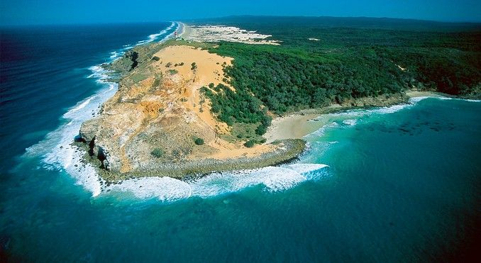Moreton Island: snorkel among shipwrecks, sand toboggan down huge sand dunes, and feed wild dolphins. With People to People we will do it all! #P2Ppacking
