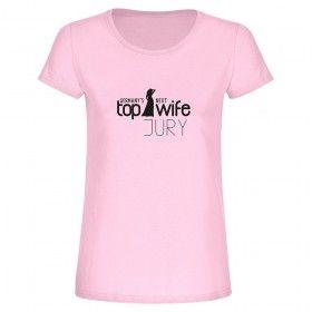 "T-Shirt ""Germany's Next Top Wife Jury"" - Braut zum Junggesellinnenabschied"