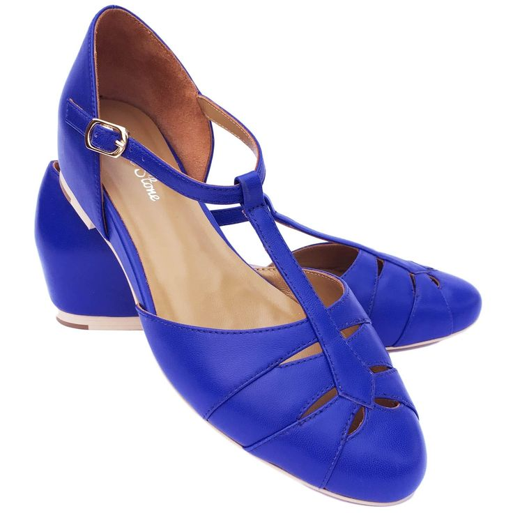 Charlie Stone Grace Shoes - Royal Blue