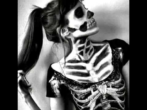 Còmo Hacer Maquillaje de Mujer Calavera para Halloween - Hogar Tv  por J...