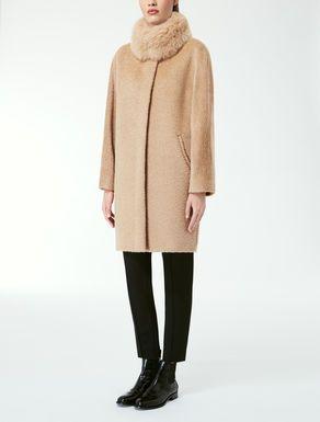 Alpaca and wool coat