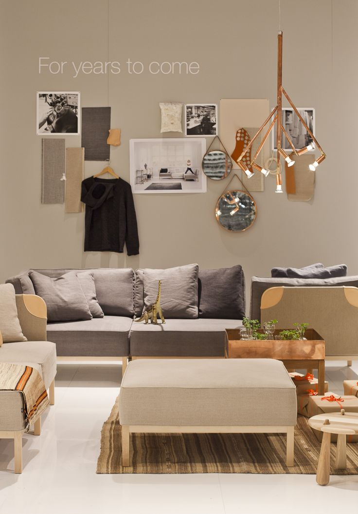 Ire Möbels stand at the Stockholm Furniture Fair 2012. Styled by me, Emma…