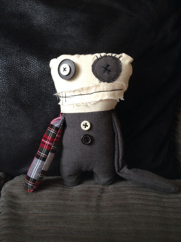 721 best Monster Dolls images on Pinterest   Fabric dolls, Rag dolls ...