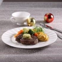 WAGYU STEAK WITH GARLIC BUTTER MUSTARD http://www.sajiansedap.com/mobile/detail/12818/wagyu-steak-with-garlic-butter-mustard