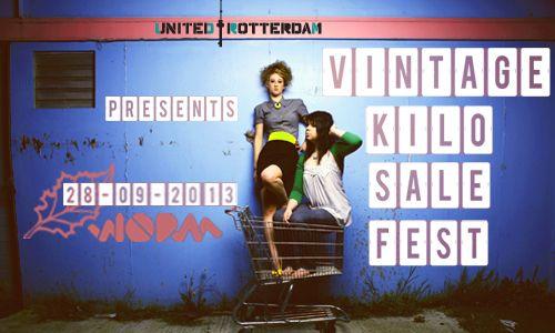WORM.org - Vintage Kilo Sale Fest // United Rotterdam