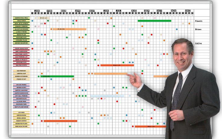 Year Calendar Whiteboard : Big year planner week line item magnetic dry erase