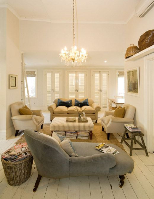 NeutralsChai Lounges, Living Rooms, Chaise Lounges, Floors, Livingroom, Bottle Longue, House, Small Spaces, Sitting Room