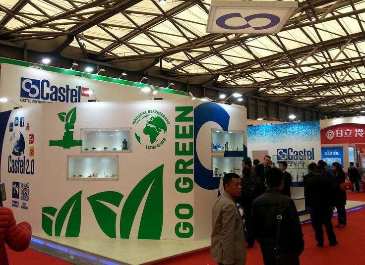 China Refrigeration 2015, #China #Shanghai #refrigeration #airconditioning #Aprile2015 #riscaldamento #ventilazione #fair #Castel #stand #ChinaRefrigeration #prodotti #GoGreen #ambiente #Co2 #green
