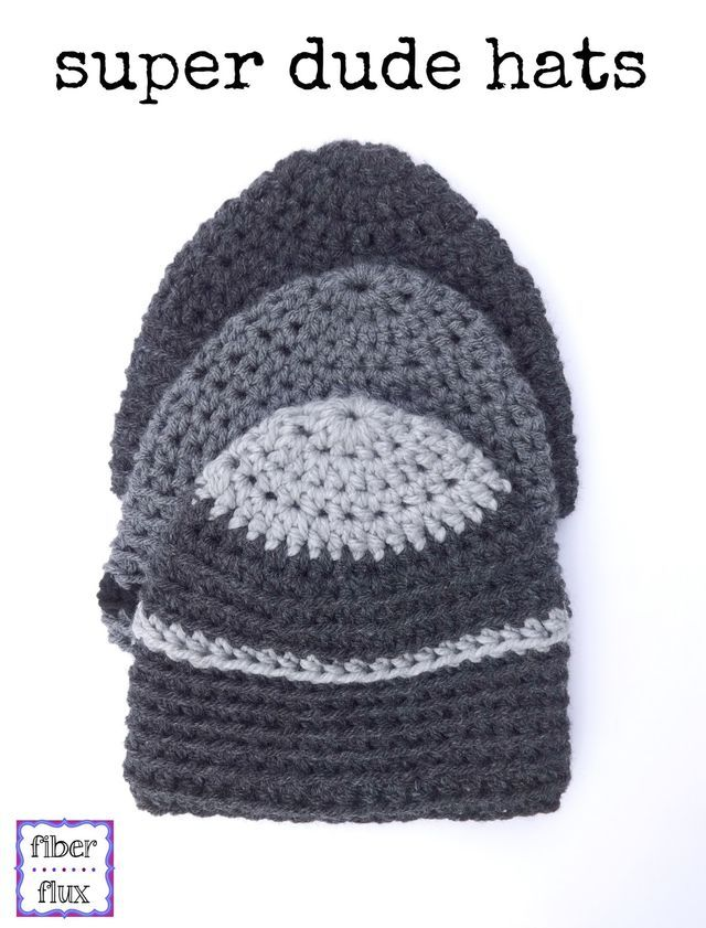 Do you have a super dude that you crochet for? Here is a ...
