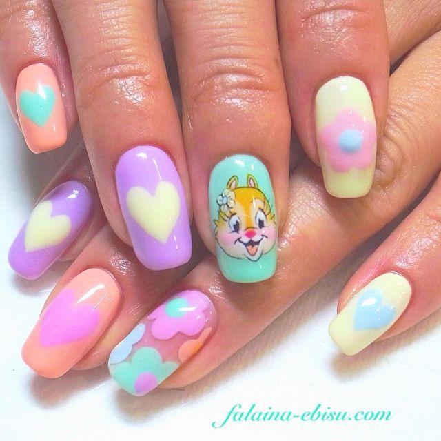 478 best Kawaii Nails images on Pinterest   Kawaii nails, Gel nails ...
