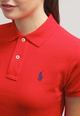 Kleding Polo Ralph Lauren SKINNY FIT - Poloshirt - red Rood: € 89,95 Bij Zalando (op 30-10-16). Gratis bezorging & retournering, snelle levering en veilig betalen!