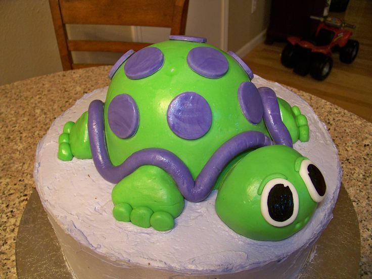 Images Of Turtle Birthday Cakes