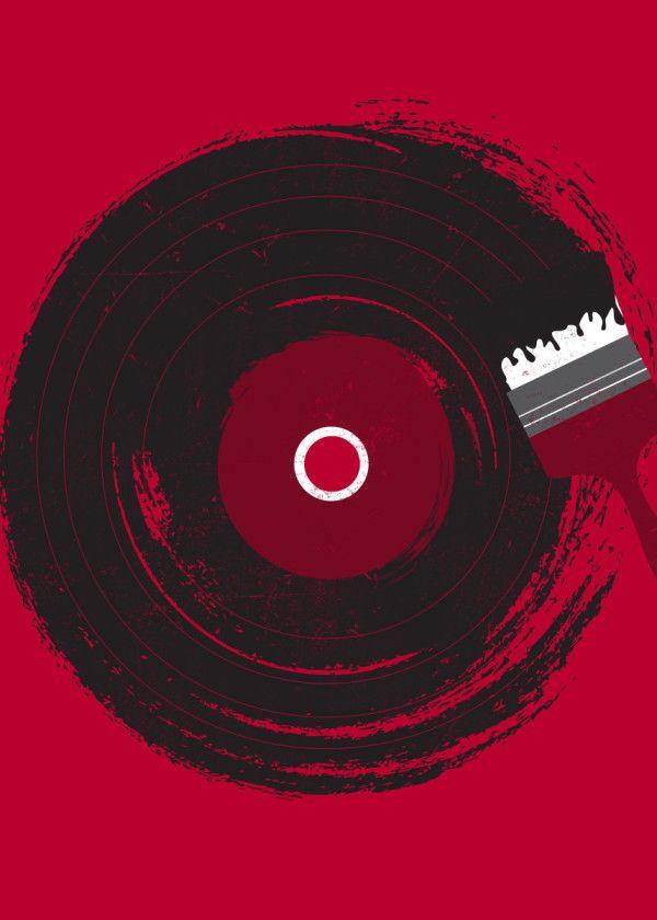 music poster by dan fajardo displate