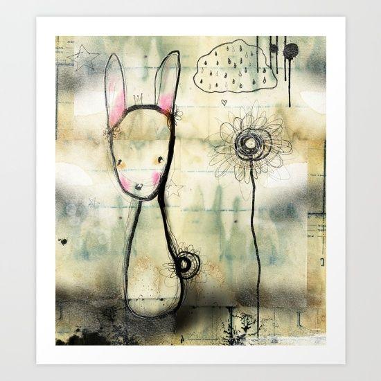 Little rabbit print