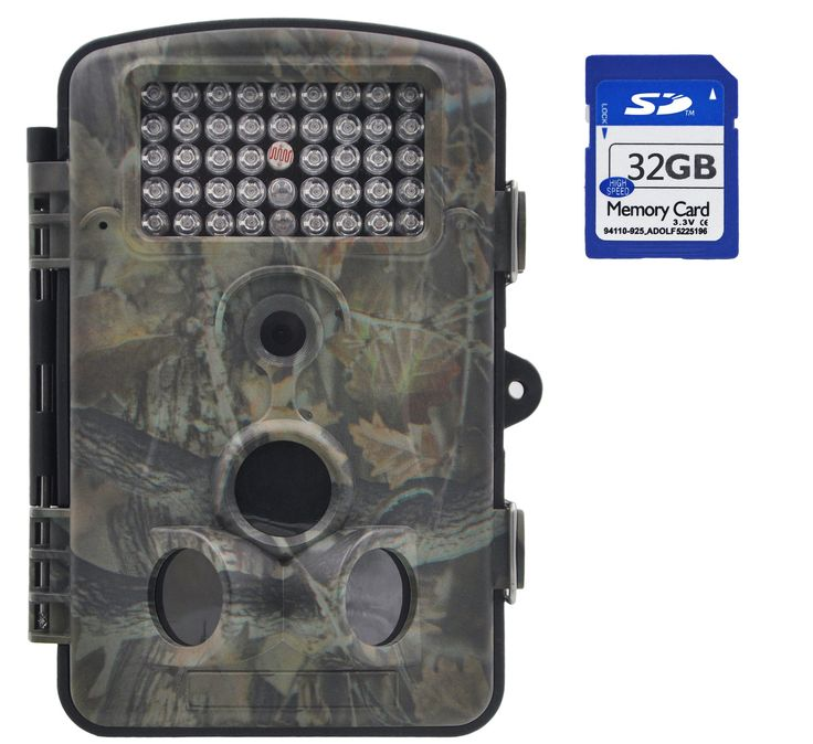"ZenNutt HD Mini Trail & Game Camera,12 MP 1080P Waterproof Low Glow Infrared Night Vision Motion Activated Outdoor Wildlife Cameras with 2.4"" LCD Screen & 42pcs IR LEDs 1 Year Guarantee"