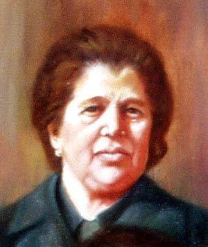 Claudia Ilardo - ritratto (olio su tela)