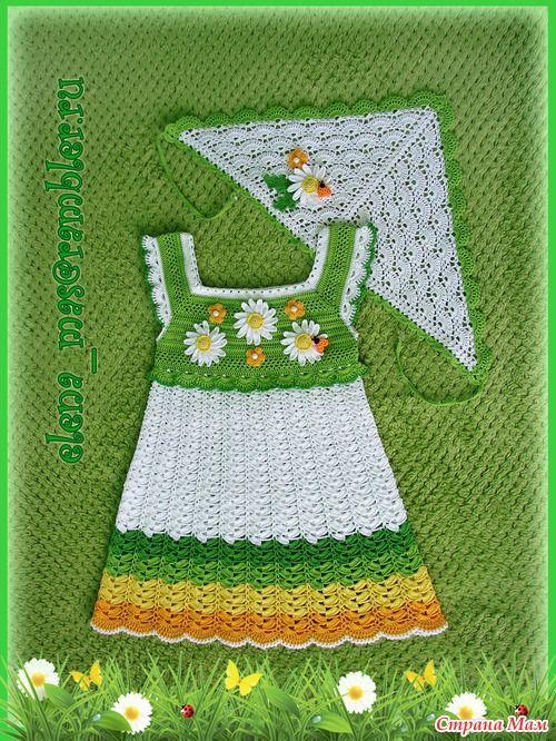 Ромашечки на доченьке - Вязание для детей - Страна Мам