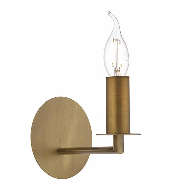 A timeless classic style single wall light in a bronze finish. This would be great for lighting in a modern or traditional lounge or bedroom. This light is double insulated for safe use without need of an earth wire. This light is individually switched by a pull cord.