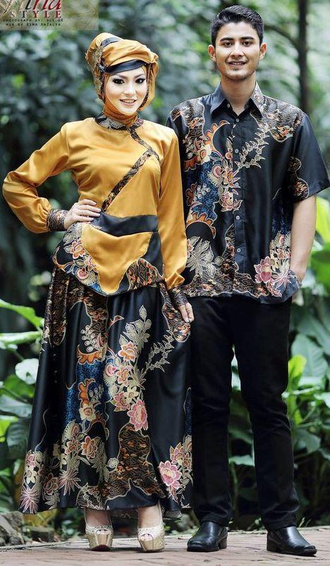 Model Baju Muslim Terbaru 2017 untuk Couple