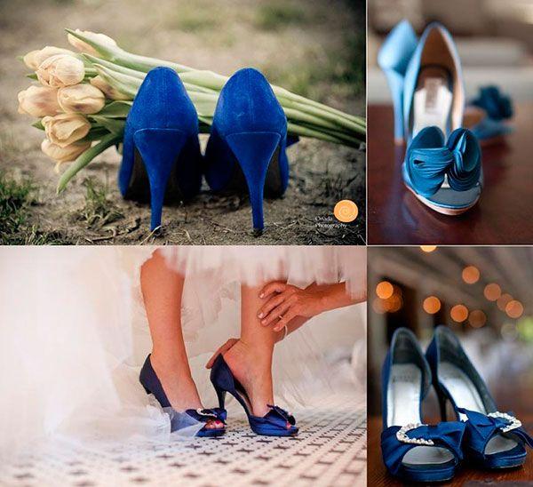 синие туфли на свадьбу #wedding #blue #shoes
