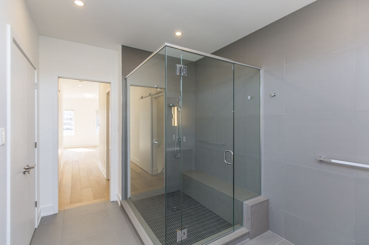 Spacious walk-in shower with the finest fixtures, 379 Dominion Avenue, Ottawa.