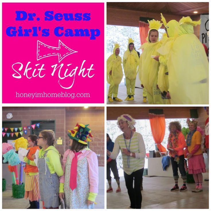 Girl's Camp Skit Night  INCLUDING a great Seussical skit about integrity!: