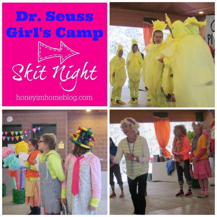Classroom Skit Ideas ~ Best ideas about camp skits on pinterest girls