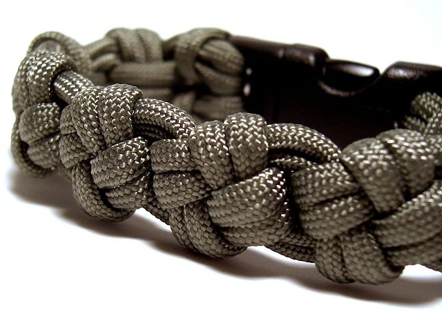 Cross Knot Paracord Bracelet and Watchband...