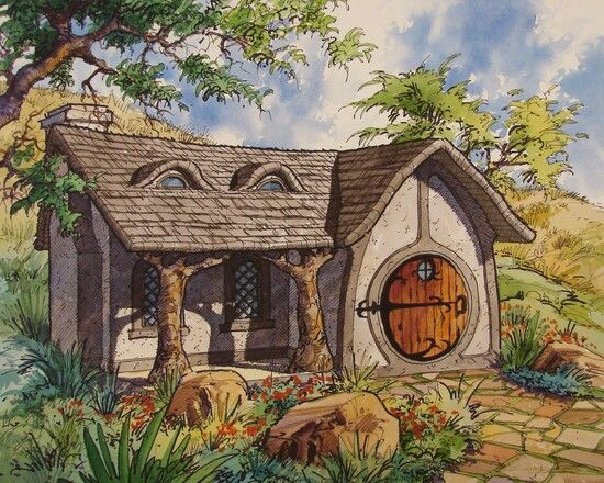 Hobbit Hole My Hobbit Home Pinterest Hobbit Hole Hobbit And