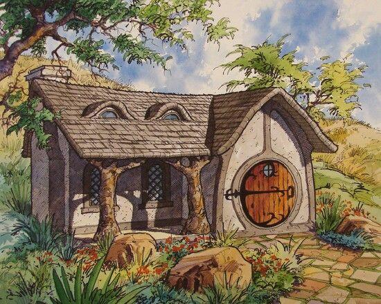 Hobbit Hole My Hobbit Home Pinterest Hobbit Hole Hobbit And