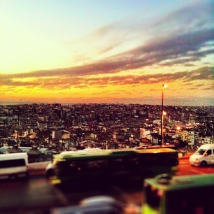 Istanbul is a big big city... messy but beautiful...
