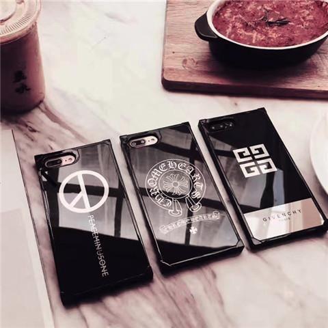クロムハーツ chrome hearts iphone 7/7 plus/6 ケース iPhone8 givenchy ジバンシー アクリル製 反射型